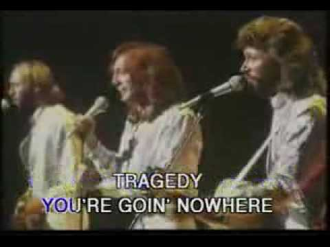 Bee Gees - Tragedy (Original Footage) - Karaoke