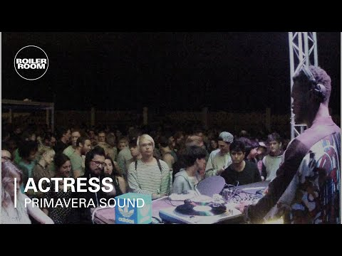 Actress Boiler Room x adidas Originals DJ Set at Primavera S