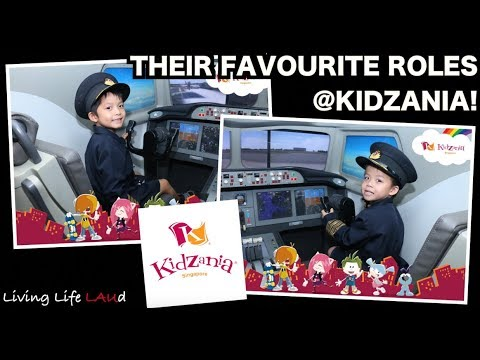THEIR FAVORITE ROLES @ KIDZANIA! | EP:64 part two