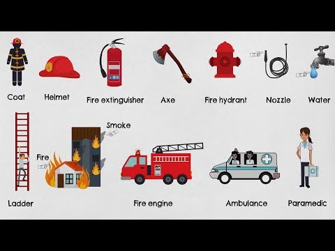 Learn Firefighting And Rescue Vocabulary In English