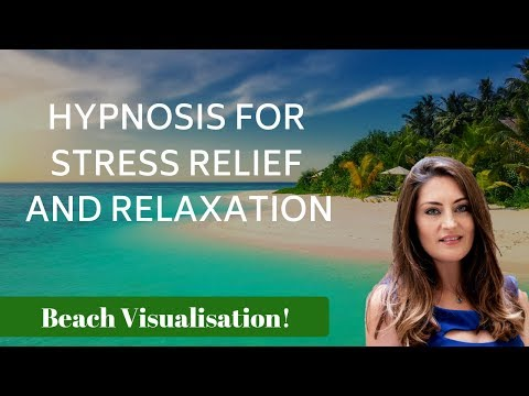 Hypnosis for stress relief and relaxation (female voice of Tansy Forrest)