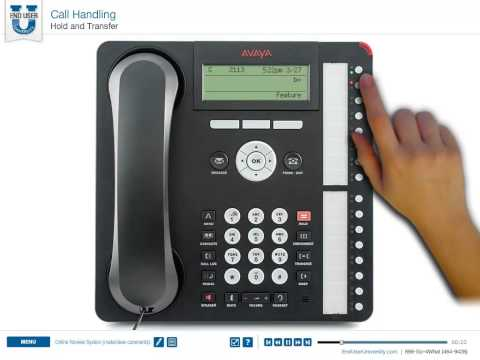 Avaya 1416 & 1616 on IP Office - Hold and Transfer