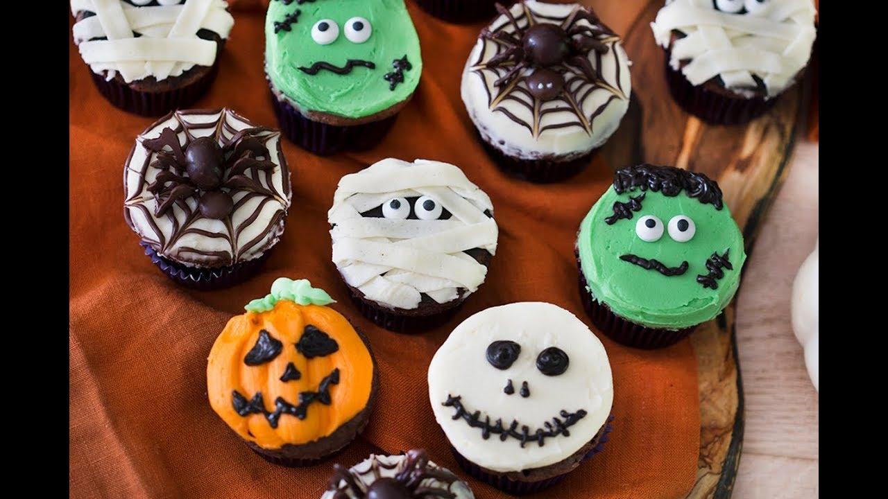 Fondant Halloween Decorations.Halloween Cupcakes Preppy Kitchen