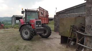 silage 2017 with fergies and a valtra