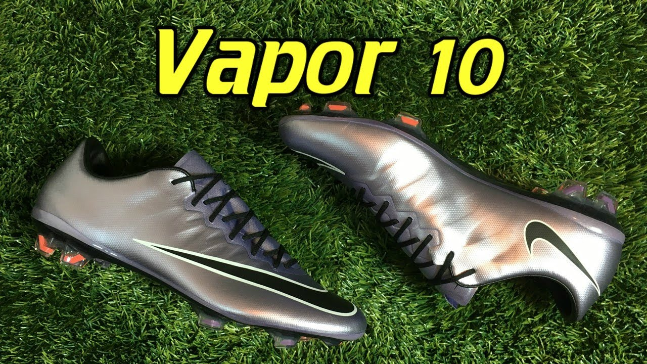 Nike mercurial vapor 10 (liquid chrome unboxing) - YouTube