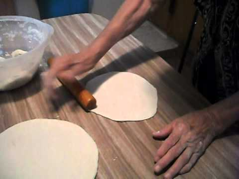 Making flour tortillas the old fashioned way!! (Albuquerque, NM)
