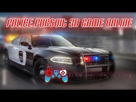 Police Pursuit 3D Game Online - Car Games Online Free Driving Games ...