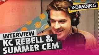 KC REBELL und SUMMER CEM stellen im Sprechstunde-Interview Maximum vor | DASDING