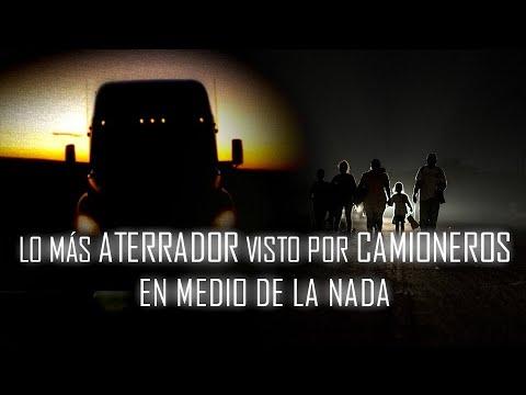 Download Lo más ATERRADOR que los CAMIONEROS han VISTO en Medio de la Nada