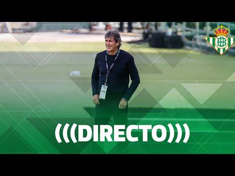 🚨 DIRECTO   Rueda de prensa de Manuel Pellegrini tras el partido Real Betis - Elche CF ⚽💚