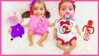 Милли и Ева как малыши и забавная история детей | Правила поведения для детей
