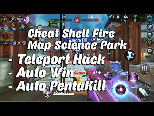 Cheat ShellFire Map Science Park - Teleport Hack