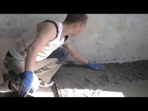 Стяжка пескобетонная М 150