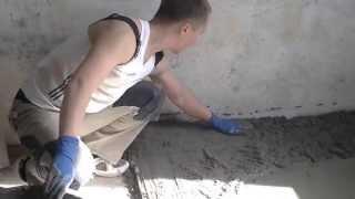видео Пескобетон М200