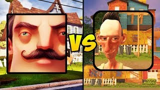 """HELLO NEIGHBOR VS ANGRY NEIGHBOR"" (Neighbor Horror Game, Mobile Games, iOS, Android)"