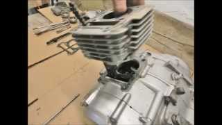 Yamaha YBR  125 Top end removal , cylinder head , barrel , piston , timing chain