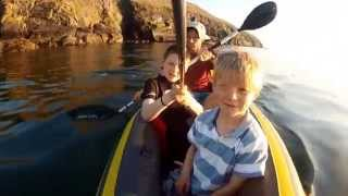 intex explorer k2 kayak peel castle isle of man