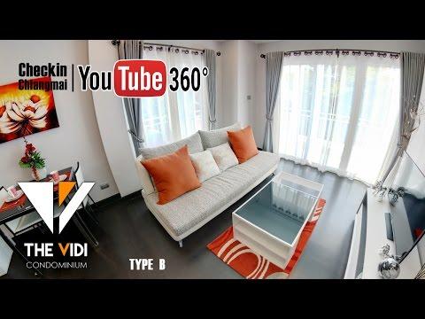 [ VR 360 ] The Vidi Condo Chiangmai Type B