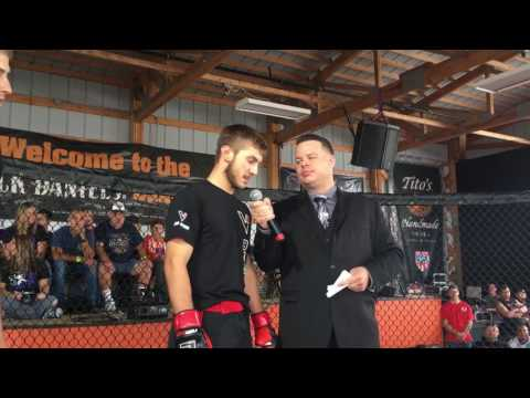 Jason Rae PureFC post fight interview