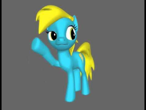 3D Pony Creator animation test #3