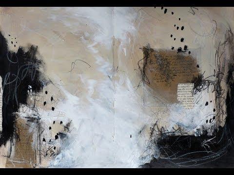 Download Abstract Art Mark Making #8   Art Journal 10 Minute
