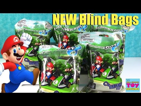 Mario Kart Backpack Buddies Hangers Blind Bags Nintendo Toy Review | PSToyReviews