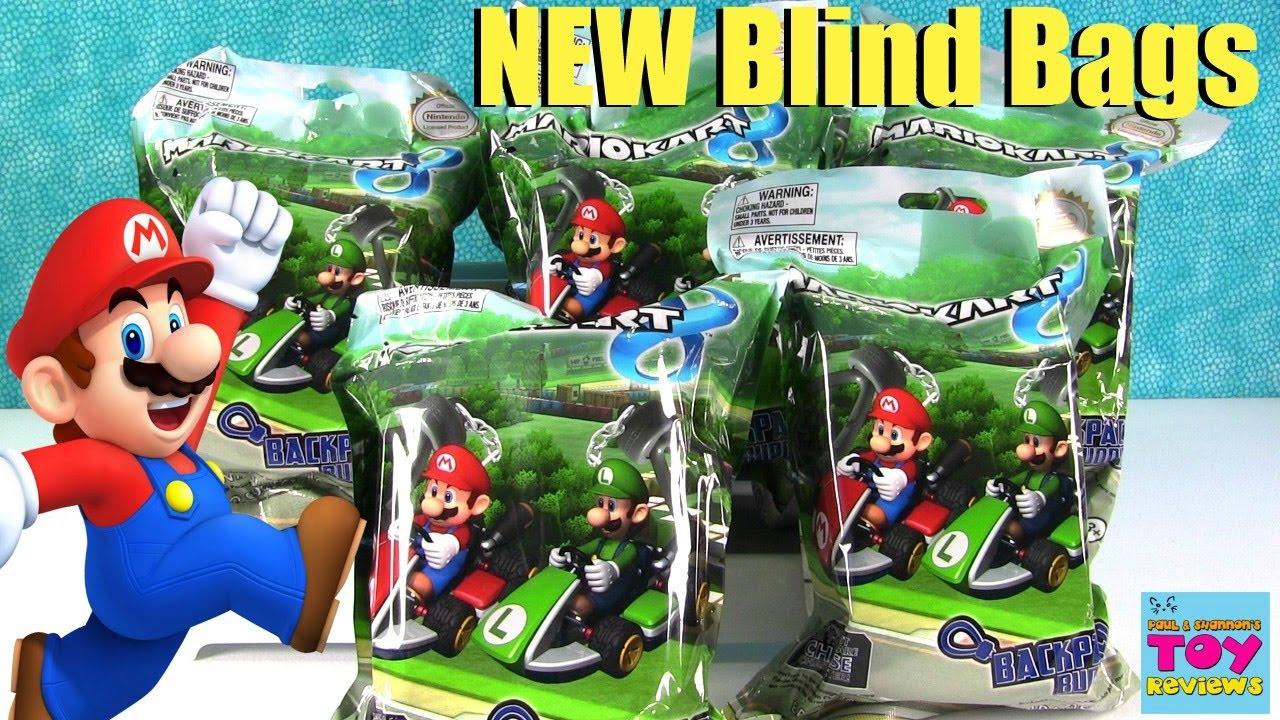 Mario Kart Backpack Buddies Hangers Blind Bags Nintendo