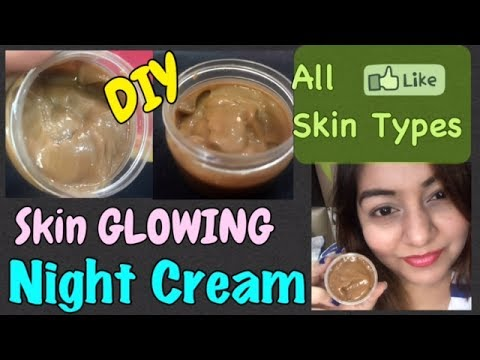 Sandalwood Night Cream | Homemade Cream To Get Fair & Glowing Skin | JSuper Kaur