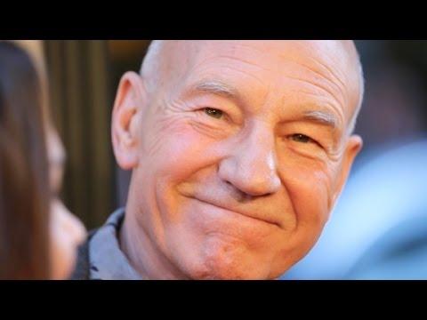 Patrick Stewart Teaches Brian Stelter How To Read A Telep