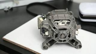 Замена щёток двигателя стиральной машины. Ремонт рядом