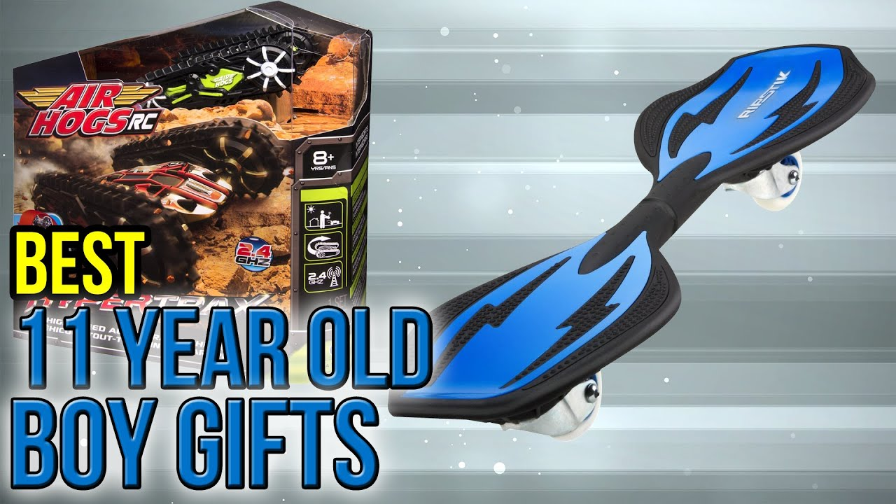 10 Best 11 Year Old Boy Gifts 2017 - YouTube