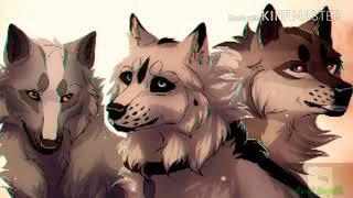 Anime Wolves-Warriors