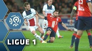 La sortie sur civière de Yohan Cabaye - Lille - PSG (1-3) - Ligue 1 - 2013/2014
