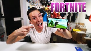 fortnite iphone xs
