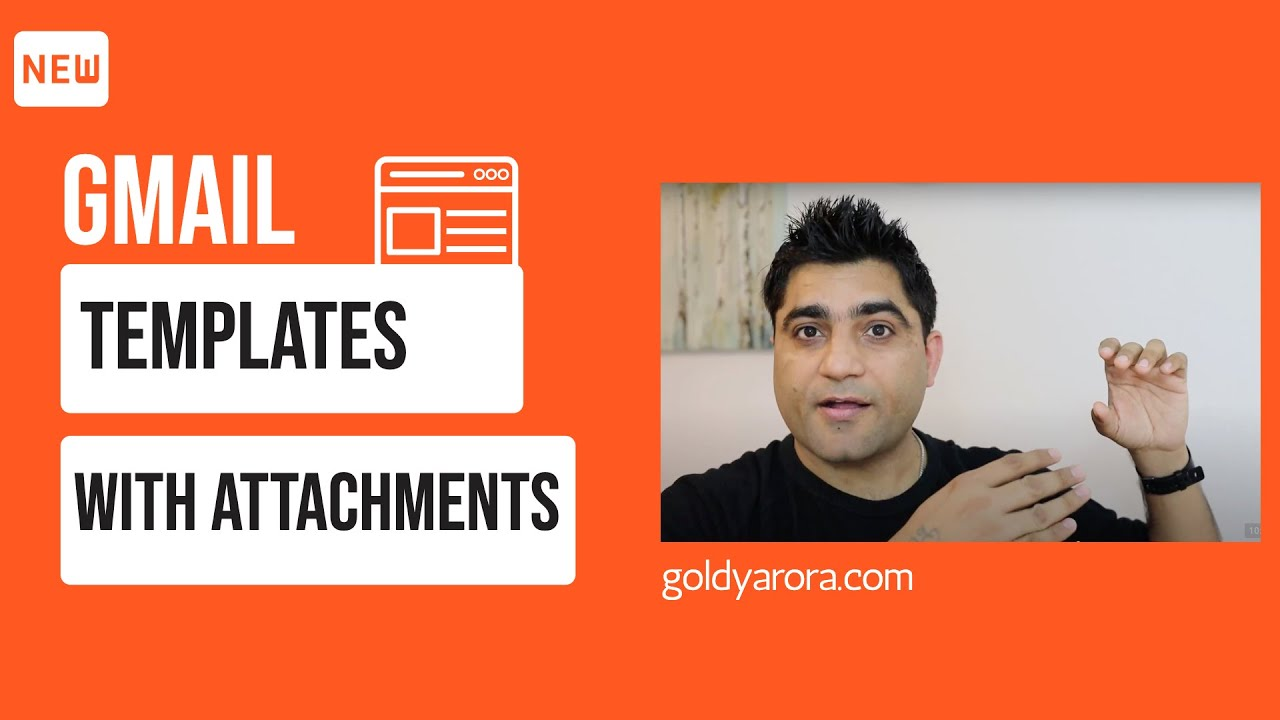 Gmail Canned Responses - email templateswith attachments - YouTube