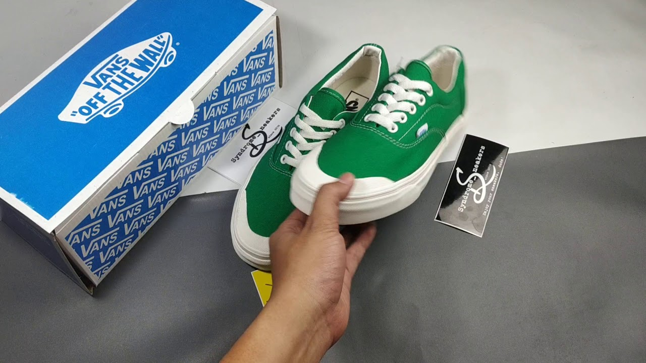 Vans Era Halfmoon Green - YouTube