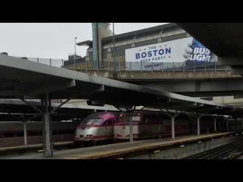 Railfanning Boston North Station!