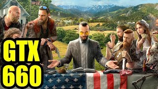 Far Cry 5 - GTX 660 OC | 1080p Low Settings  | FRAME-RATE TEST
