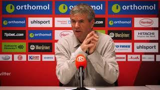 Pressekonferenz vor Heidenheim