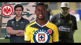 Frankfurt quiere fichar a Macías/Jackson Martínez a Cruz Azul?/Maradona deja a Dorados de Sinaloa
