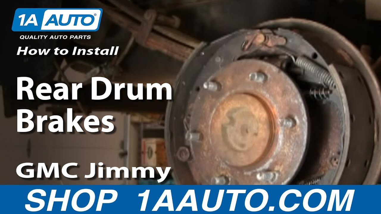 How To Replace Rear Drum Brake Wheel Cylinder 84-91 GMC ...