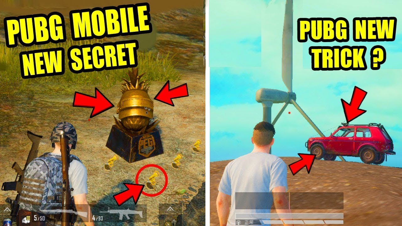 Pubg Mobile New Update Top 3 New Secret Location ? Only 0.5% People Know This Secret Trick ?