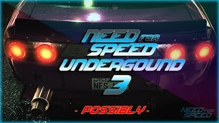 Need For Speed 2015 - Teaser Trailer | Possibly Underground 3 | Full HD