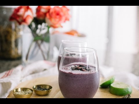 Pineapple Blueberry Smoothie