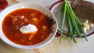 Супы на каждый день. Борщ рецепт