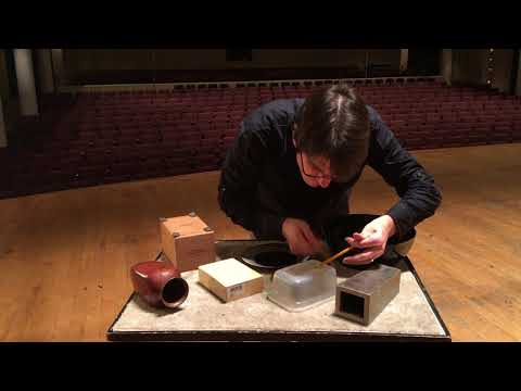 Alvin Lucier - Opera with Objects