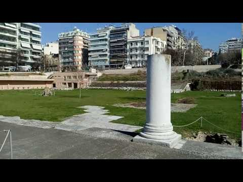 At the Ancient Roman Forum of Thessaloniki - Part 2