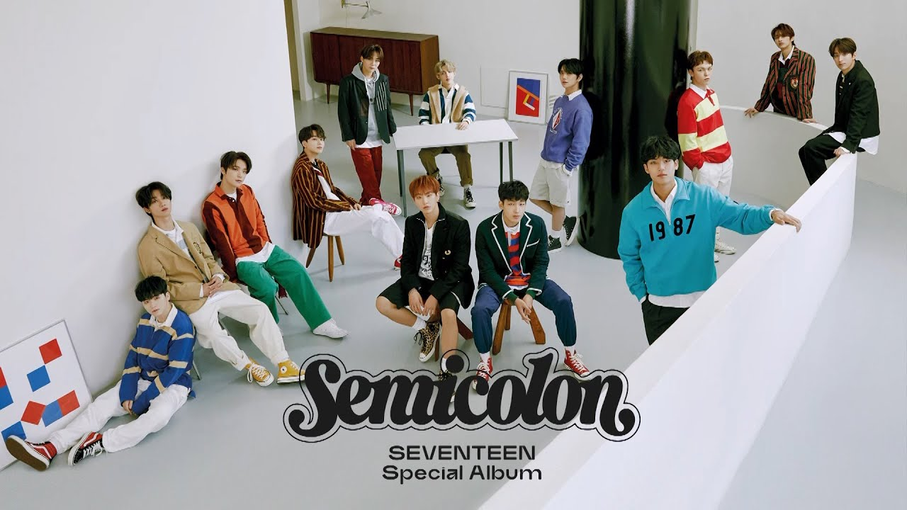 SEVENTEEN (세븐틴) Special Album '; [Semicolon]' Online Global Press Conference