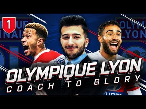 FIFA 19 OLYMPIQUE LYON CAREER MODE CTG 1 - WHAT AN INCREDIBLE TEAM