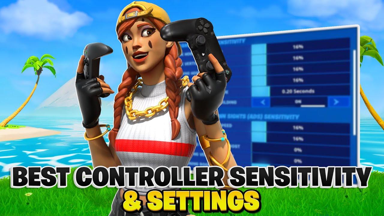 Best Controller Fortnite Sensitivity Settings For Season 5 Fortnite Settings Ps4 Ps5 Xbox Youtube